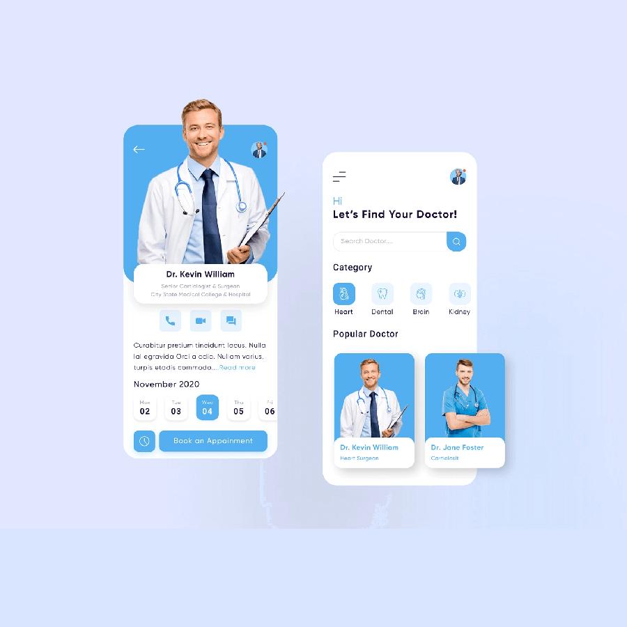 هزینه ساخت اپلیکیشن پزشکی